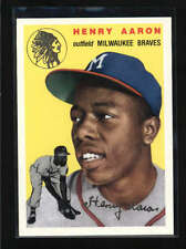 HANK AARON 1994 TOPPS ARCHIVES #128 RARE 1954 GOLD PARALLEL AB5410