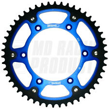 Supersprox Rear Stealth Sprocket Suzuki RMZ 250 2004 - ON 51 Teeth Blue