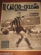 IL CALCIO E CICLISMO ILLUSTRATO 1959/4=ANGELILLO INTER=BARI SPAL=