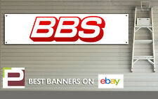 Bbs alloy wheels banner pour atelier, garage, motorsport, bmw, ford, audi