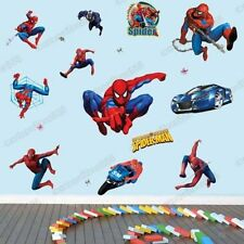 Grande Spiderman Pegatinas De Pared Niños Niños Guardería Decoración Arte Calcomanía Vinilo Desmontable