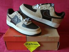 Nike Air Force 1 Mr Cartoon Brown Pride Size 11 Brand New