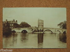R&L Postcard: St Ives, Bridge, Frith Real Photo