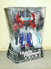 Transformers Animated First Edition Clear Optimus Prime MISB Rare