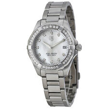 Tag Heuer Aquaracer Mother of Pearl Diamond Dial Stainless Steel Ladies Watch