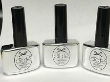 NEW - 3 bottles Ciate London Top Coat Nail Polish .46oz ea