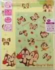 Letter Set Disney Chip & Dale Happy with Sticker Paper Japan Stationery
