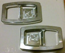 87-93 FORD MUSTANG GT LX BILLET DOOR HANDLE BEZELS 88 89 90 91 92 93 COBRA