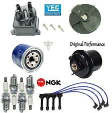 Tune Up Kit Filters Cap Rotor Spark Plug Wire for Acura Integra LS; RS; 1.8L 94
