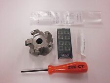 "Brand NEW 2.5"" ZCC-CT 45° SEMT Face Shell Mill Nexus Tool Carbide Inserts 997SO"