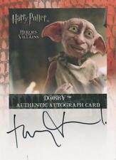 Toby Jones ++ Autogramm ++ Dobby ++ Harry Potter ++ Titanic ++ Amazing Grace