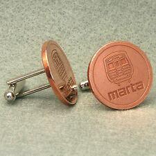 Atlanta Vintage Transit Token Cufflinks,  MARTA Bronze
