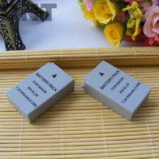 2x BATTERY 850mAh for Nikon 1 J5, EN-EL24, VFB11901