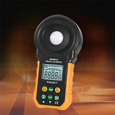 Digital MS6612 LCD Lux Light Meter Lux/FC Luxmeter Illuminance Measuring HYELEC