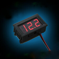 Durable Red LED Panel Meter Voltage Meter Digital Display Mini DC Voltmeter 6030
