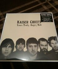 Kaiser Chiefs Yours Truly Angry Mob ltd coloured vinyl LP still sealed