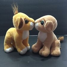 Lion King Authentic 1993 Simba Nala Kissing Magnetic Cubs Sweetheart Valentines