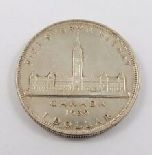 PCD-3 CANADA 1939 SILVER DOLLAR KING GEORGE VI.PARLIAMENT BUILDING. SEE PICTURES