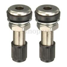 2 x 35mm Tubeless Mountain Bike Motorbike Scooter Bicycle Tyre Valve Dustcap New