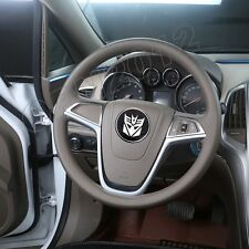 60mm Transformer Decepticon Alloy Car Steering Wheel Center Cap Sticker Cover 3D