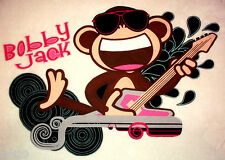 "26"" BOBBY JACK MONKEY ROCK STAR SET CHARACTER WALL SAFE FABRIC DECAL CUT OUT"