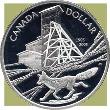2003 Canada Proof Silver Collector Dollar (25.175 Grams .925 Silver)