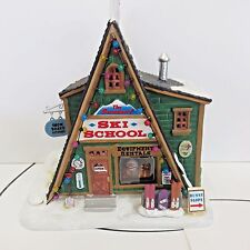 Lemax 2016 Holiday Village Lighted Building, SKI SCHOOL, New in Box