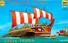 Triera-griego buque de guerra IV-V siglos adC (46cm/18 pulgadas de largo) 1/72 Zvezda