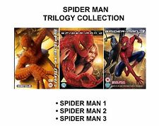 Spider Man Trilogy complete 1 3 (2 Disc Special Editions) NEW SEALED UK R2 DVD