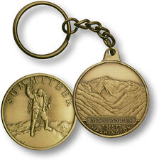 Mt. Olympus / Summiteer - Washington - Bronze Challenge Coin Key Chain