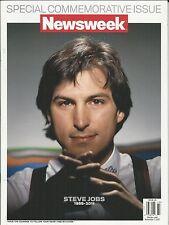 Newsweek magazine Steve Jobs Apple Special commemorative issue Mac Pixar Icon