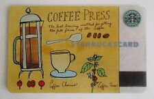 Rare Starbucks *** Coffee Press 2003 *** Gift Card & Sleeve Ltd Edition, VHTF