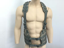 Military LBE Tactical H Harness, ACU Universal Camo, S/M