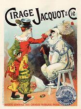 ADVERT JACQUOT & CO SHOE POLISH FRANCE VINTAGE REPRO POSTER ART PRINT 805PYLV