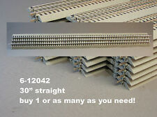 LIONEL FASTRACK 30 INCH train fast track long o gauge 3 rail STRAIGHT 6-12042