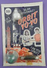 """Orbit Yo-Yo Space Toy """"Be An Astronaut"""" - 1960s Mint in Pack"""