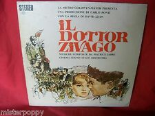 MAURICE JARRE Il Dottor Zivago OST LP 1965 EX+ Textured Cover ITALY