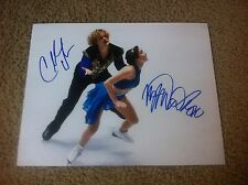 Charlie White Meryl Davis Autographed 11x14 Photo USA Figure Pair Skaters PROOF