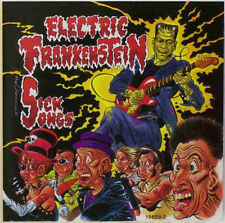 "ELECTRIC FRANKENSTEIN SICK SONGS GET HIP RECORDS 10"" LP VINYLE NEUF NEW VINYL"