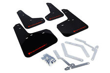 Rally Armor MF27-UR Mud Flaps w/ RED Logo for 2013-2015 Focus ST SE Hatch Wagon