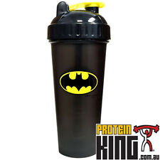 BATMAN PERFECT SHAKER HERO 800ML BOTTLE CUP MIXER PROTEIN BLENDER GYM SPORTS