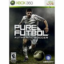 XBOX 360 Pure Futbol: Authentic Soccer Video Game sports online multiplayer fun