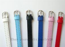 50pcs Copy Leather Wristband Bracelet Fit 8mm slide charms