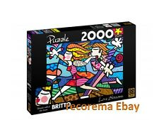 BRITTO LOVE BLOSSOM PUZZLE 2000 PIECES  (SIZE: 3.2 FT x 2.3 FT) SHIPPING FROM US