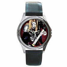 Detroit Metal City rock band guitar leather wrist watch