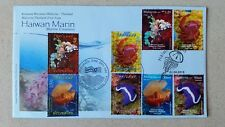 Thailand Malaysia Joint Issue Marine Creatures FDC First Day Cover 2015 b
