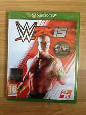 WWE 2K15 & Sting DLC Xbox One W2K15, NEW SEALED