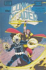 COMIC READER #203 fanzine (1982) Ghost Rider Son of Satan The Thing covers