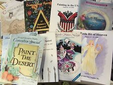19 Lot Convention Special Ann. meeting SOCIETY OF DECORATIVE PAINTERS 1992 2003