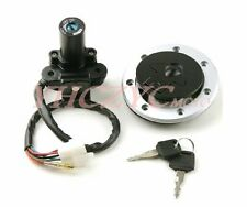Ignition Switch Lock Gas Cap Set for Kawasaki ZZR400 600 Ninja ZX6E 93-06